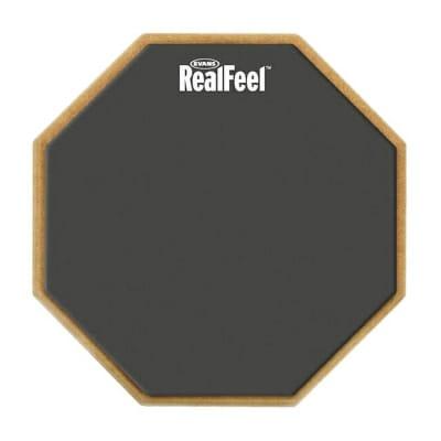 "Evans 12"" RealFeel Speed Practice Pad Grey"