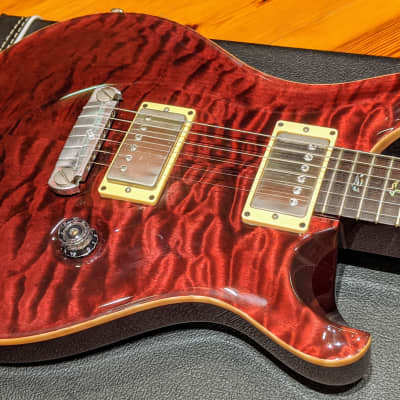 Paul Reed Smith McCarty 1957/2008 #50 of 150 SIGNED Trans Cranberry Quilt 10 Top Custom Guitar OHSC