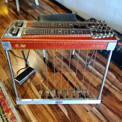 1974 Sho-Bud The Professional Pedal Steel with Pack-a-Seat and Goodrich Volume for sale