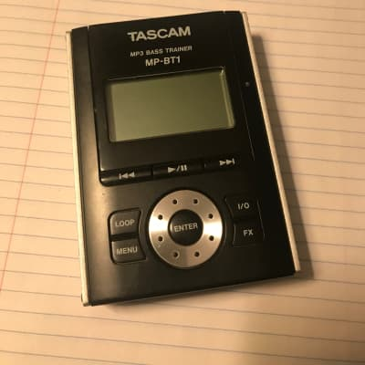 Tascam Mp3 bass trainer 2000s Black