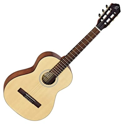 Ortega RST5-3/4 Student Series 3/4 Body Size Classical Guitar (Natural Gloss Finish)