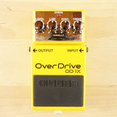 Boss OD-1X OverDrive - Amazing Special Edition Over Drive Guitar Effects Pedal - VG Cond. W/ Box!