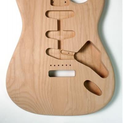 GÖLDO MUSIC BSA2U Body für Stratocaster, SSS, US-Alder, lackierfertig geschliffen for sale