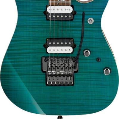 Ibanez RG j.custom 6str Electric Guitar w/Case - Green Emerald RG8520GE for sale