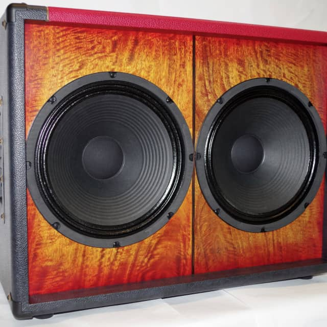 Tonewood 2x12 Sunburst Mango Graphite/Scarlet w/built-in Attenuator& Dirty 30 Drivers -160W image