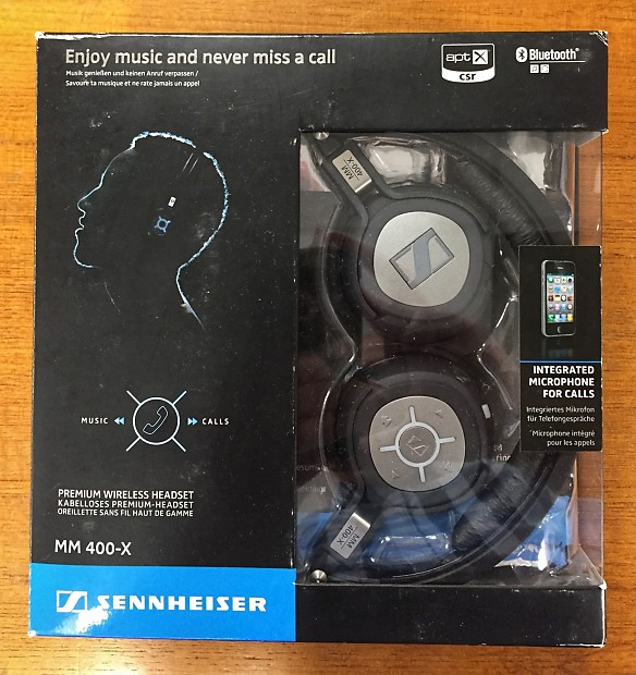 dbc566edccb Sennheiser MM 400-X Wireless Headphones | Reverb