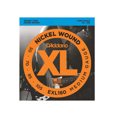 D'Addario EXL160 Gauge Nickel Wound Electric Bass Strings