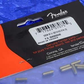 Genuine Fender '51 P Bass Bridge Saddle Height Adjustment Screws, One Dozen0040800049