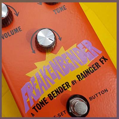 Sola Sound / Rainger FX Freakenbender Tone Bender Fuzz exp mod for sale