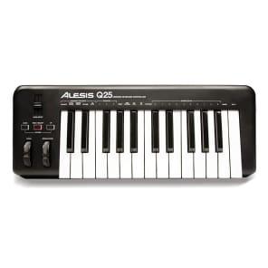 Alesis Q25 25-Key USB MIDI Controller Keyboard