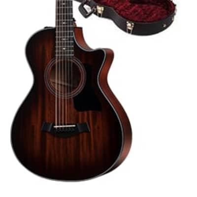 Taylor 300 Series 362ce Model Grand Concert Cutaway 12-String Acoustic / Electric Guitar w/ Case for sale