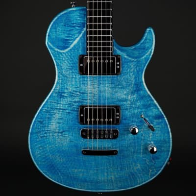 Vigier GV Wood in Stonewash Blue with Case #492 for sale
