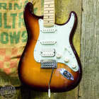 Fender {B STOCK} Deluxe Strat HSS with Maple Fretboard Tobacco Sunburst image