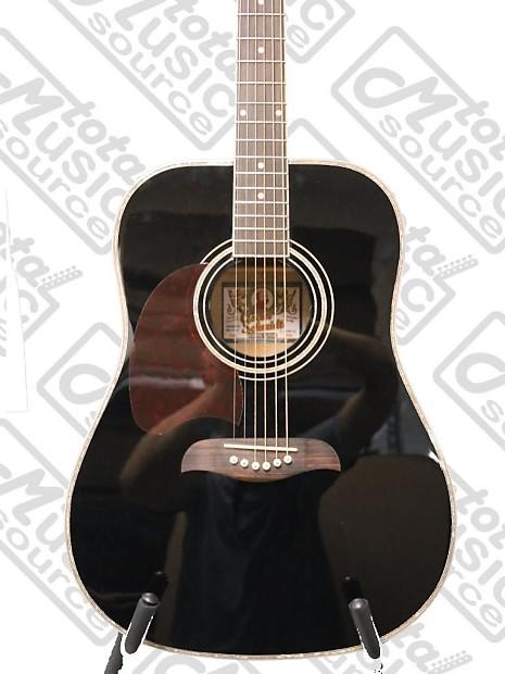 oscar schmidt left hand dreadnought acoustic guitar spruce reverb. Black Bedroom Furniture Sets. Home Design Ideas