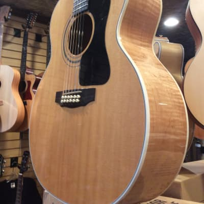 1994 Guild JF-30 12 Natural with OHSC - Made in Westerly RI for sale