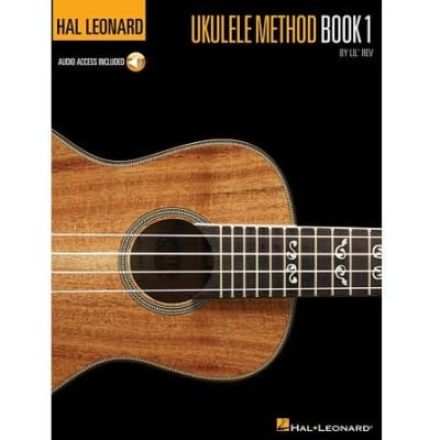 Hal Leonard Ukulele Method by Lil' Rev - Book 1 (w/ Online Audio Access)
