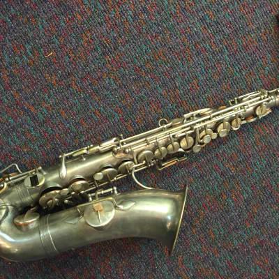 Evette & Schaeffer, Paris Vintage/Antique Alto Saxophone Made c.1916 Overhauled!