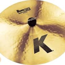 """Zildjian 16"""" K Medium Thin Dark Crash image"""