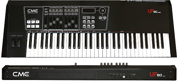 cme uf60 classic 61 key midi usb controller reverb. Black Bedroom Furniture Sets. Home Design Ideas