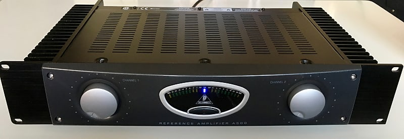 behringer a500 600w studio reference power amplifier reverb. Black Bedroom Furniture Sets. Home Design Ideas