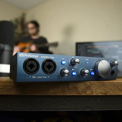 PreSonus AudioBox iTwo USB Audio Interface- B-Stock