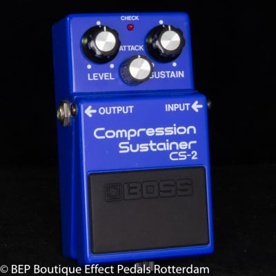 Boss CS-2 Compression Sustainer 1986 Japan s/n 643000 as used by David Gilmour, Josh Klinghoffer