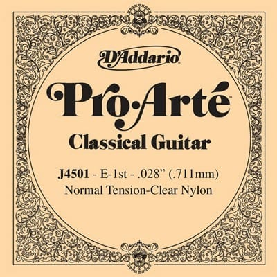 D'Addario Nylon Single String
