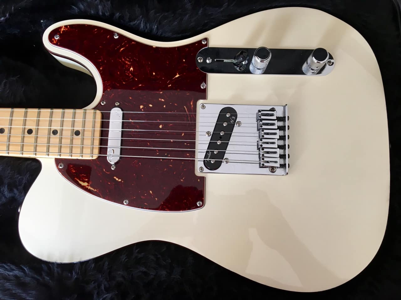Fender American Deluxe Telecaster 2016 Olympic Pearl White ...