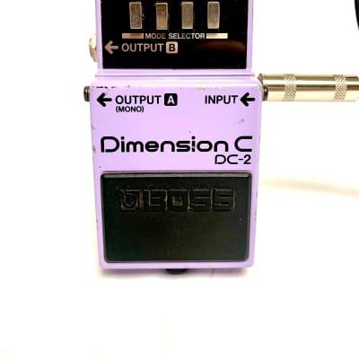 [Final price cut] BOSS DC-2 Dimension C Rare Vintage Guitar Pedal MIJ Japan
