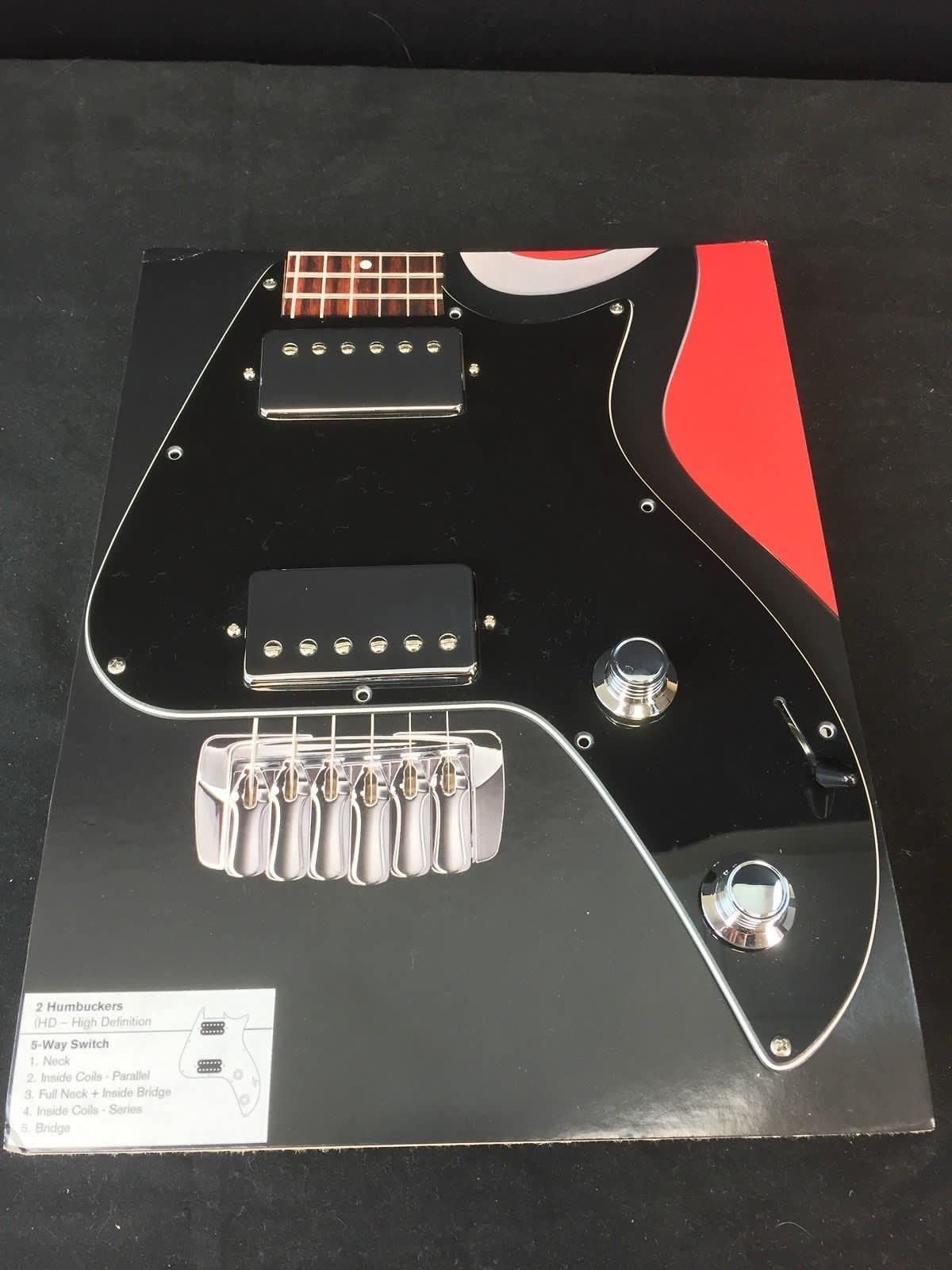 Taylor Solidbody Electric Loaded Pickguard, HD Humbuckers,   Reverb