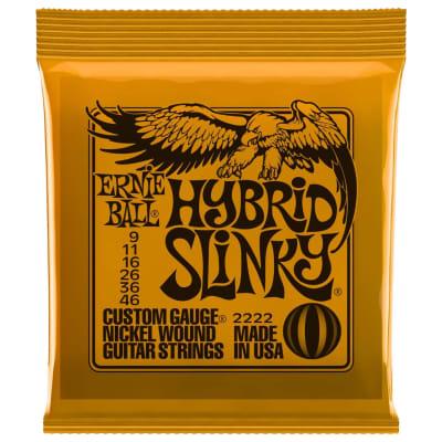 Ernie Ball Nickel Slinky Electric Guitar Strings - 9-46