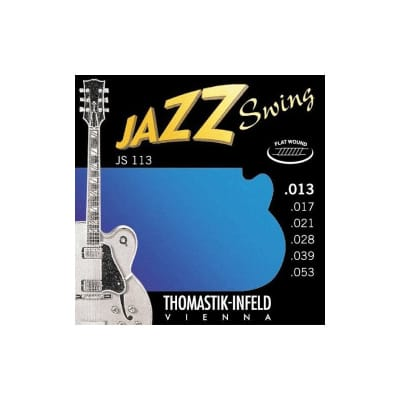 Thomastik JS113 Jazz Swing Flatwound 13-53