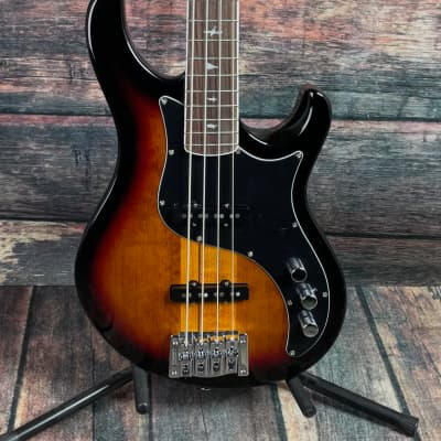 Paul Reed Smith PRS SE Kestral 4 String Electric Bass- Tri Color Sunburst