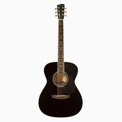Savannah SGO-12-BK 000-Style Acoustic Guitar Black for sale
