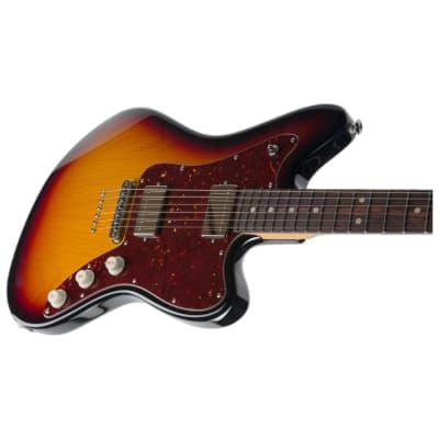 Suhr Classic JM 3-Tone Burst S90 510 Bridge Electric Guitar w/SSCII for sale