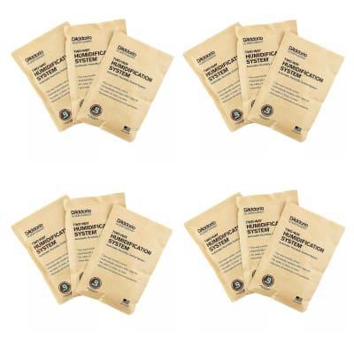 D'Addario Humidipak Standard Replacement 12-Pack Bundle