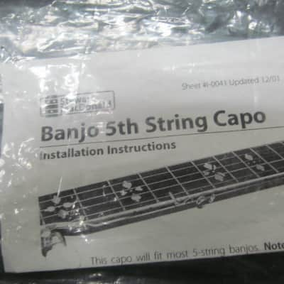 Stewart MacDonald Banjo 5th String Capo for sale