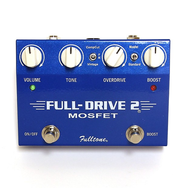 fulltone fulldrive ii mosfet music toyz reverb. Black Bedroom Furniture Sets. Home Design Ideas