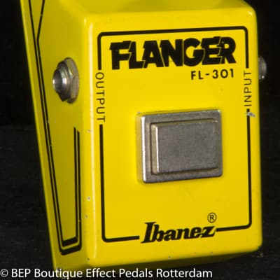 Ibanez FL-301 Flanger Narrow Box Version 1 with Flying Fingers 1979 Japan