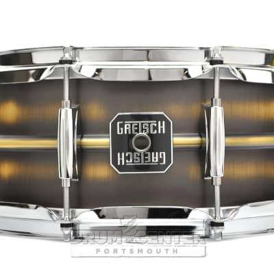 Gretsch Full Range Brushed Brass Snare Drum 14x5.5 - Liquidation Deal!