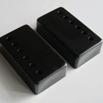 Black Guitar 50/52MM Humbucker Pickups Covers