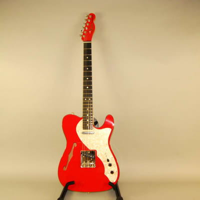 2019 LIMITED EDITION  FENDER THINLINE TELECASTER  TWO TONE  FIESTA RED for sale