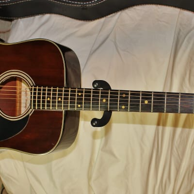 Carlos Acoustic 249 1982 Solid Mahogany Top  Dreadnought for sale