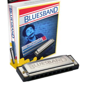 Hohner BLUESBAND Blues Band Harmonica - Key of C