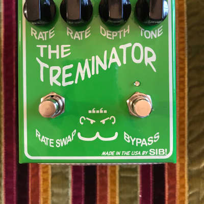 SIB Electronics The treminator dual tremolo pedal  Green