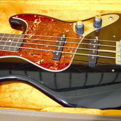 Fender CustomShop 1961 Closet Classic Jazz Bass 2012 Black for sale