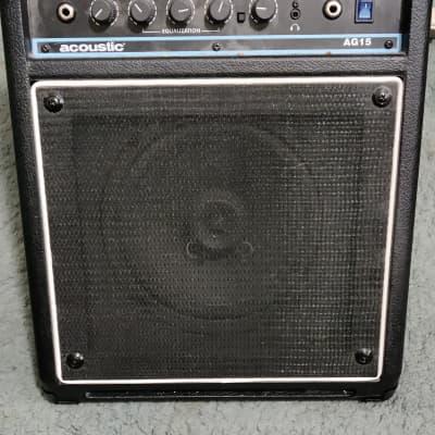 2012 Acoustic AG15 acoustic guitar amp / amplifier for sale