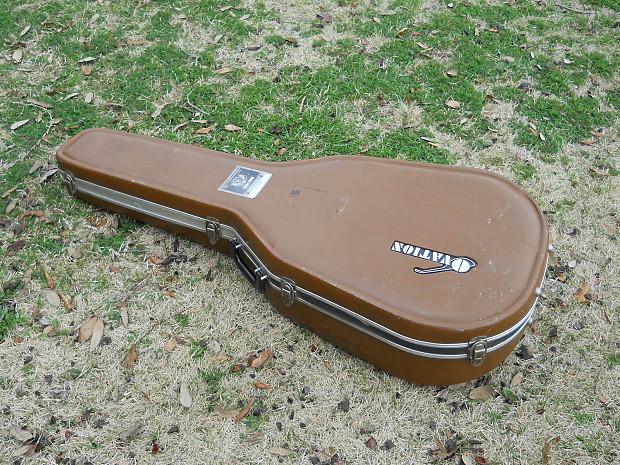 cf349c7136 Description; Shop Policies. Vintage 70's. Ovation Deep Bowl Contour Round  Back Acoustic Guitar, Brown Hard Case!