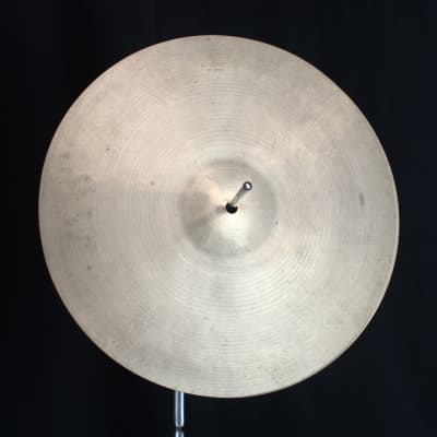 """K. Zildjian 12"""" Old Stamp Hi-Hat Cymbals (Pair) 1930 - 1958"""