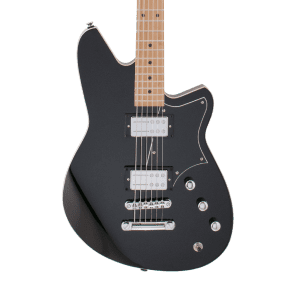 Reverend Descent RA Baritone with Roasted Maple Neck Midnight Black